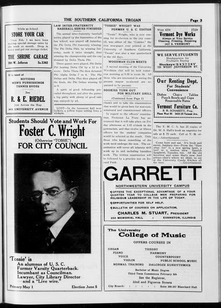 The Southern California Trojan, Vol. 8, No. 97, April 18, 1917