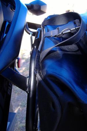 V-Strom Saddle Bag Brackets