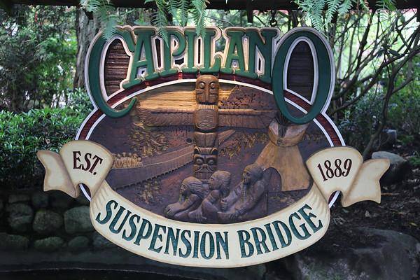 Capilano Suspension Bridge, Vancouver, Canada - May, 2014
