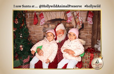 Hollywild Santa Photos - 120919