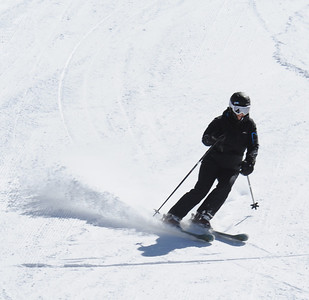 Skiing 4-3-12
