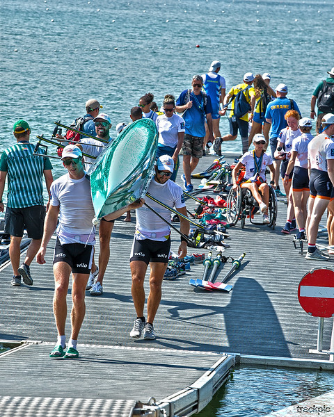 World Rowing Championships 2019, Final Days Saturday and Sunday