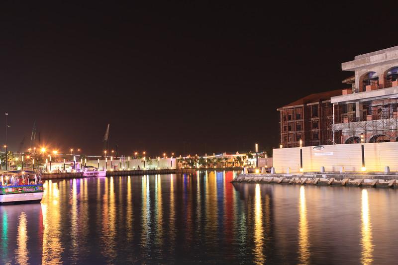 Widok na port