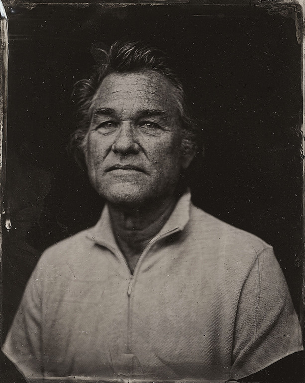 . Kurt Russell poses for a tintype (wet collodion) portrait at The Collective and Gibson Lounge Powered by CEG, during the 2014 Sundance Film Festival in Park City, Utah. (Photo by Victoria Will/Invision/AP)