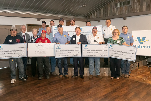 Valero Grants to VFD's 2019