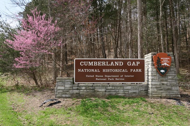 Cumberland Gap National Historical Park Entrance