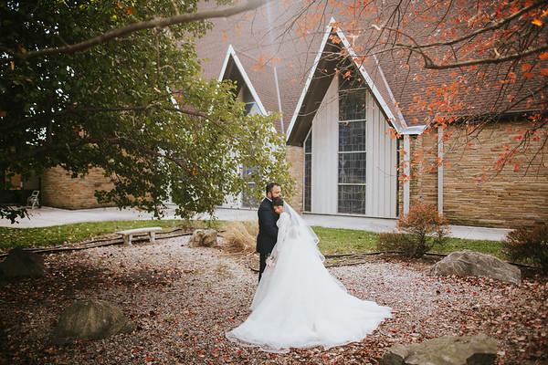 Emilia + Chris Wedding