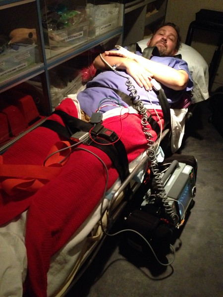 dave on the stretcher.jpg