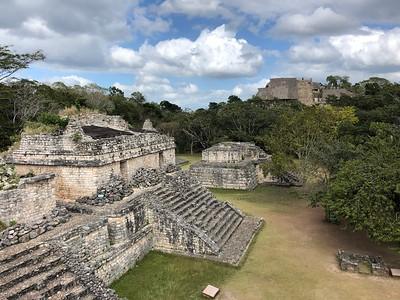 Mayan Ruins & topside