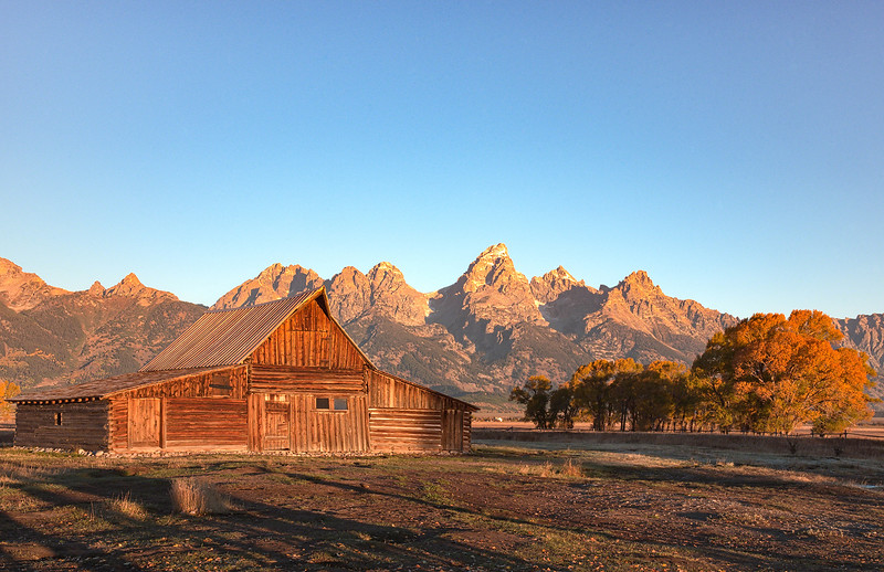 Moulton Barn and the Tetons
