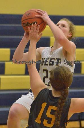 Roosevelt vs. West Albany Girls HS Basketball