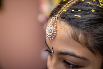 Vaishanavi's Half Saree Function