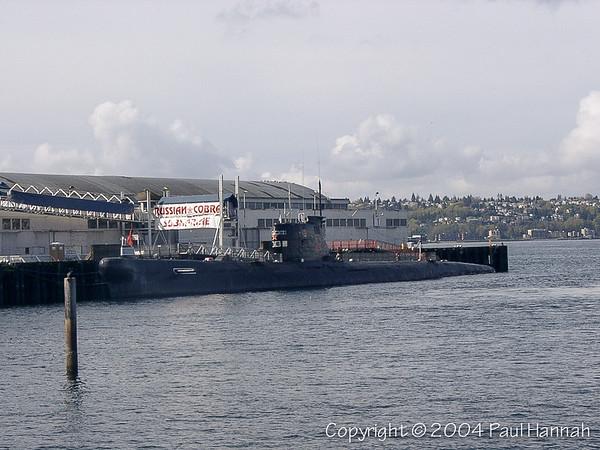 "Soviet ""Cobra"" (b-39) Foxtrot Class – Seattle, WA - Now in SD, CA"