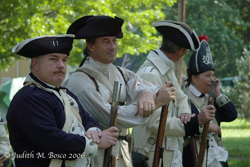 What's wrong with this photo? Hint= I don't think they had cell phones 225 years ago!!