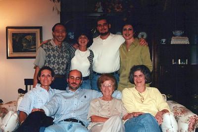 10-5-1998 Angelo Ianello Mom's pasta dinner