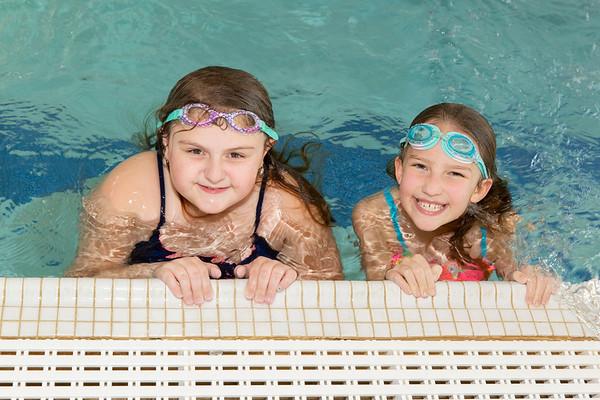 Mermaids at the Pool