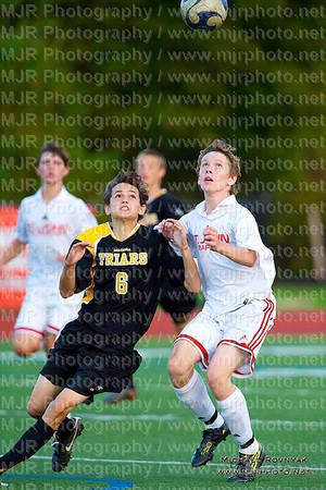 Soccer, Boys H.S. JV, St Johns Vs St Anthonys 10.12.10