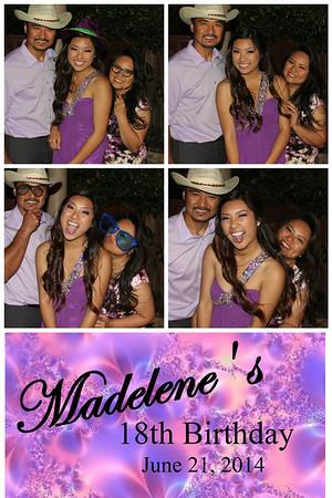 Madelene's 18th Birthday