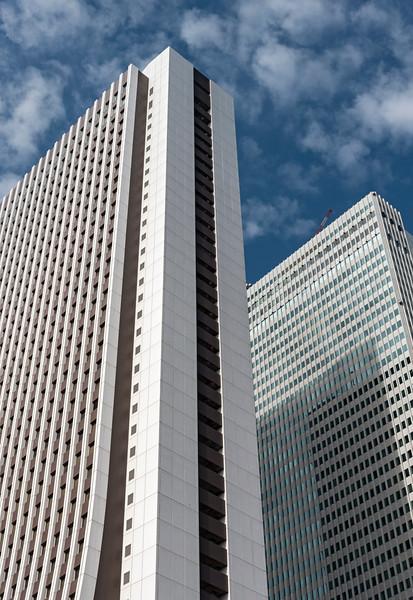 Shinjuku Sompo and Nomura Buildings, Tokyo