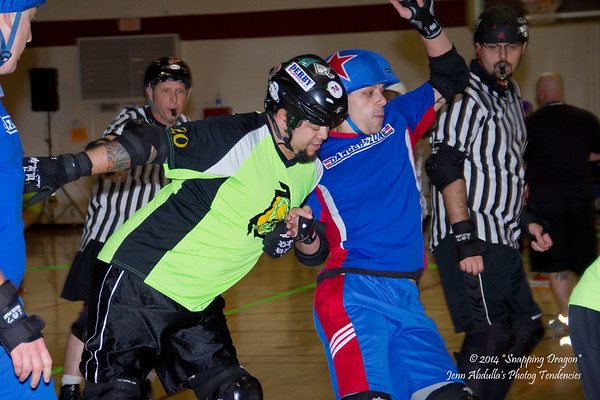 AZMD Dangerzone vs The Sting 2-1-14