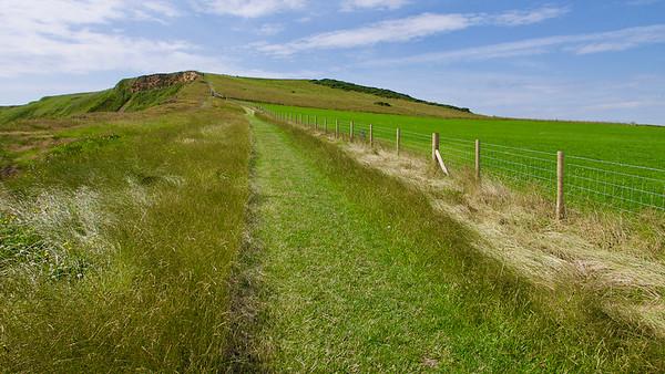 20 kilometrov z Runswick Bay do Saltburn-by-the-Sea
