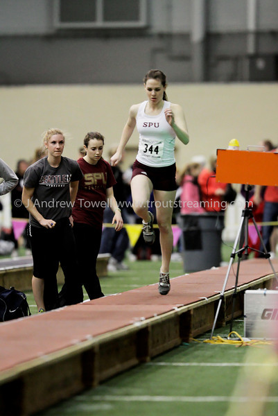 100116 Seattle Pacific University Falcons Indoor Track and Field Snapshots