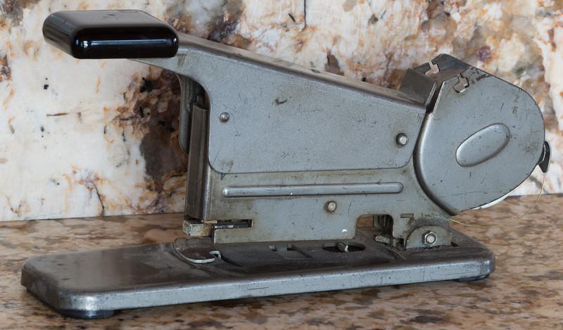 Bates Model B Stapler