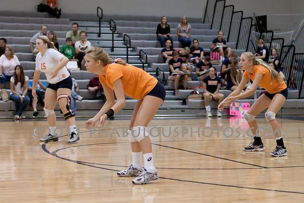Boone Girls JV Volleyball #15 - 2011