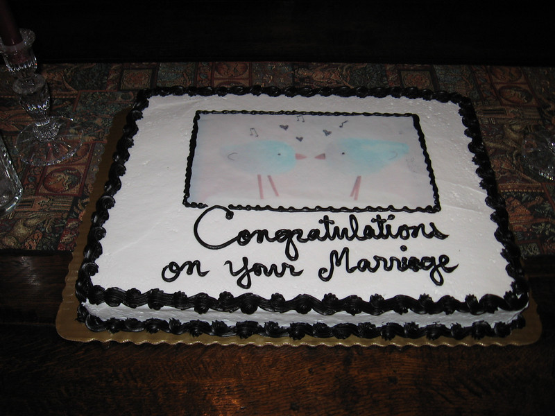 Q. What do you put on the wedding cake for two same-sex peeps who got married?   A. Two same-sex peeps.