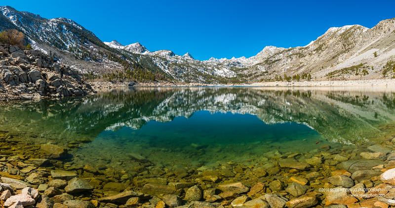 Lake Sabrina pano