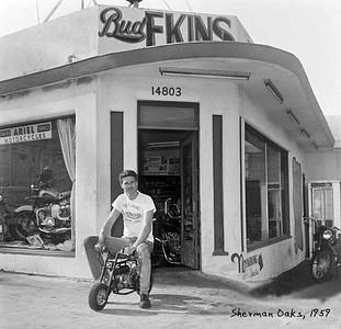 1959 Bud Ekins Motorcycle Shop