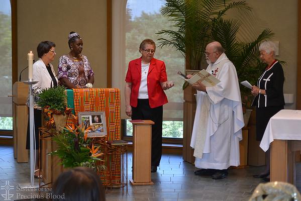 Sister Mumbi Kigutha professes first vows