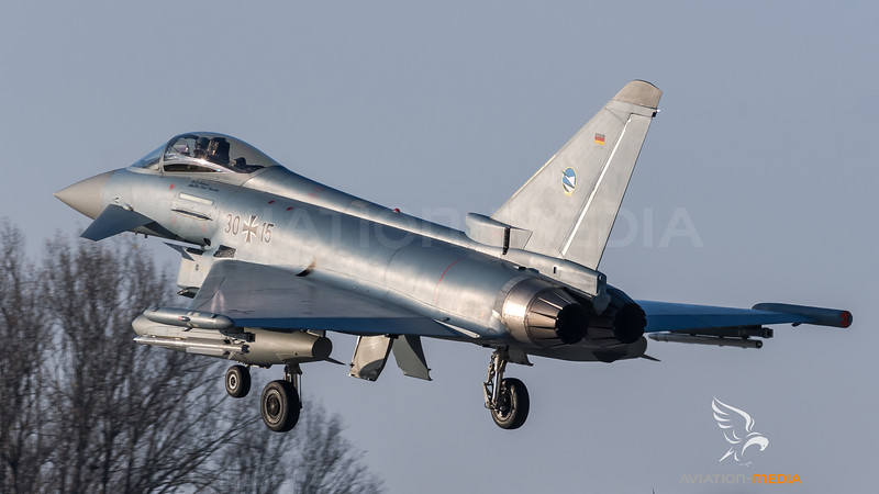 German Air Force TLG-74 / Eurofighter Typhoon / 30+15