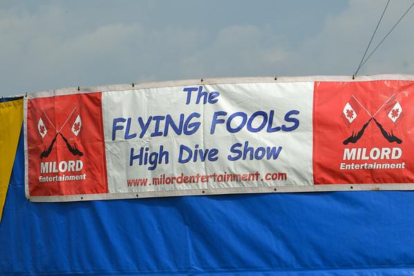 Flying Fools High Dive Team