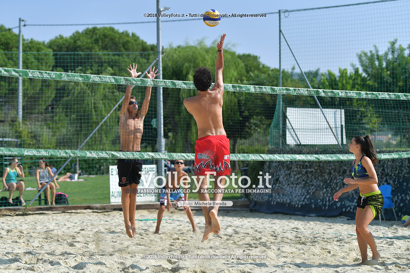 presso Zocco Beach PERUGIA , 25 agosto 2018 - Foto di Michele Benda per VolleyFoto [Riferimento file: 2018-08-25/ND5_8418]