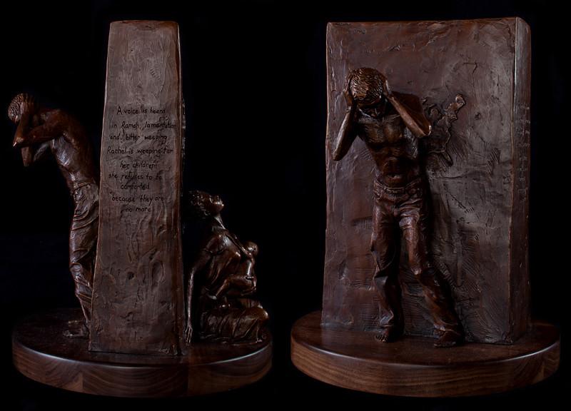 AIDS: Africa<br /> by Allison Streett<br /> bronze
