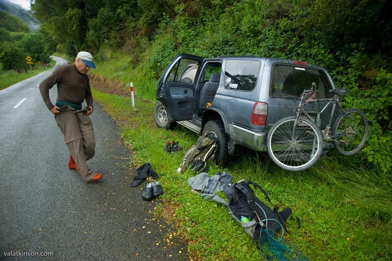 roadside dressing for fishing #1