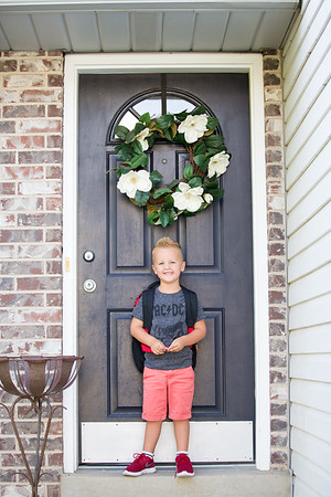 Nixon [first day of preschool 18-19]