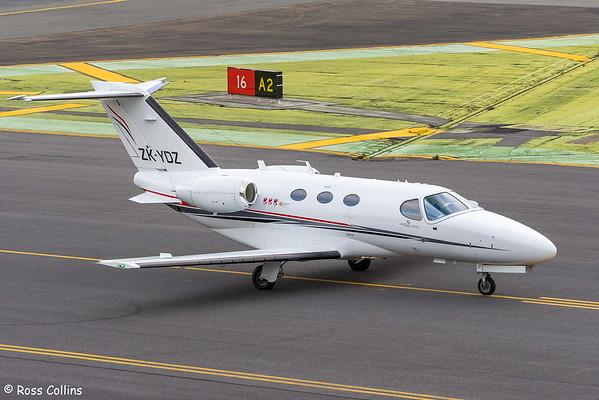 Skyline Aviation Cessna 510 at Wellington 2021