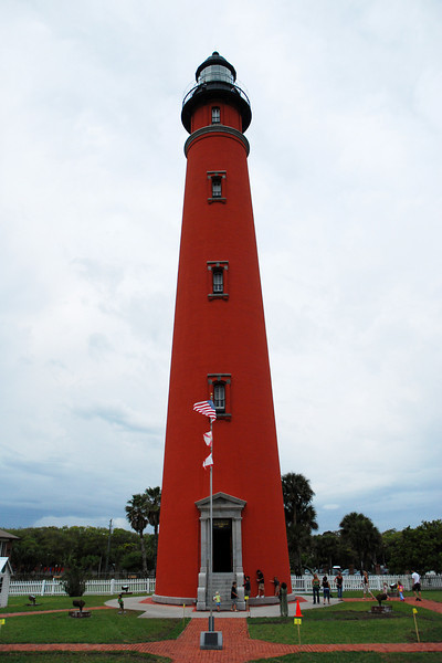 Ponce Inlet Lighthouse - We were able to climb to the top as the lightning storms held off.