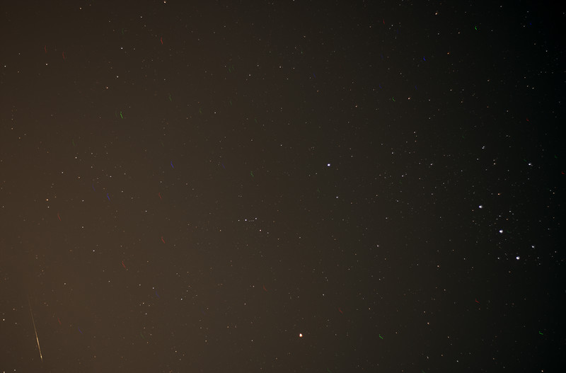 Orionid watch - 21/10/2016 (Processed stack)