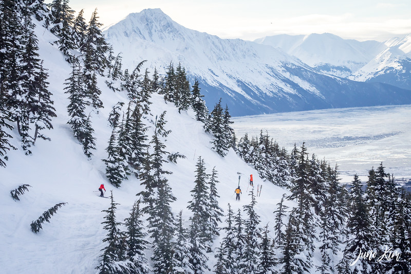 Alyeska Resort ski slopes