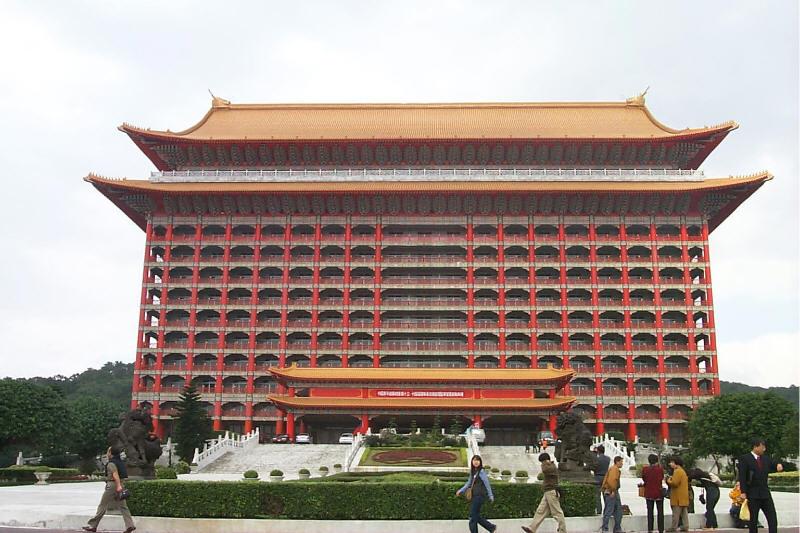 The Grand Hotel facade - Taipei, Taiwan