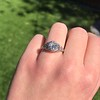 1.11ct Old European Cut Diamond Filigree Ring 21