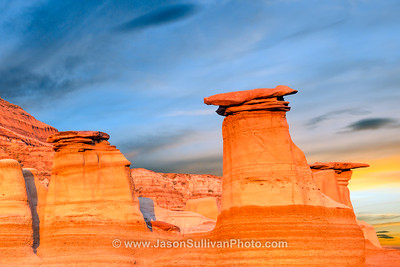 Deserts and Badlands Scenery