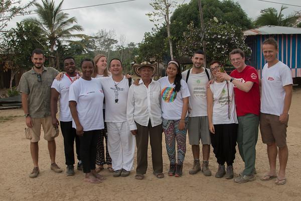 Visita de Christian Aid en Urabá