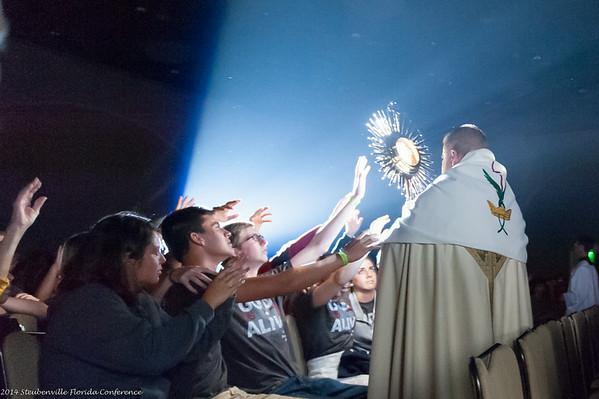 Saturday: Evening Session & Eucharistic Adoration