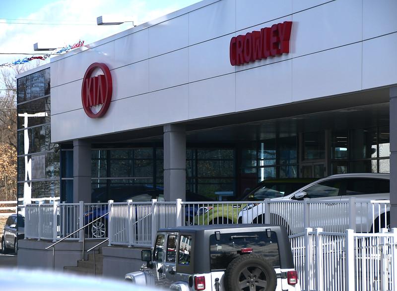 3/8/207 Mike Orazzi   Staff Crowley Auto Group's Kia location in Bristol.