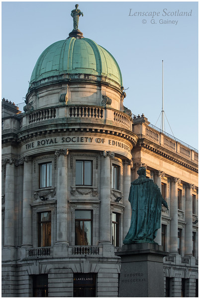 Royal Society of Edinburgh dome, George Street 3
