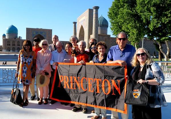 Princeton group in Samarkand - Serguei Oushakine